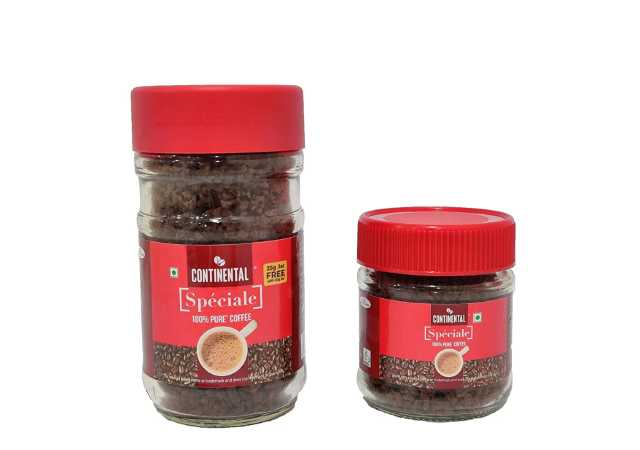 Continental Coffee Speciale Pure Coffee 50 g Jar and 25 g Jar Combo Pack
