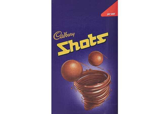 Cadbury Dairy Milk Chocolate Shots, 208.8 gm Carton (58 units x 3.6 gm)