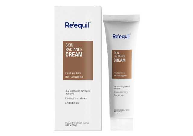 RE' EQUIL Skin Radiance Cream that helps in reducing hyper pigmentation, dark spots, age spots, melasma - 30g