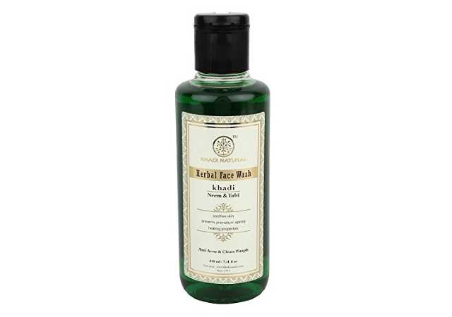 Click to open expanded view KHADI NATURAL Ayurvedic Neem and Tulsi Face Wash, 210ml