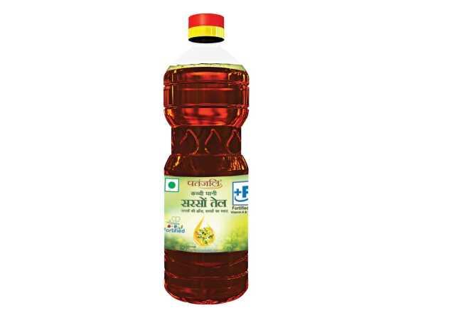 Patanjali Fortified Mustard Oil, 1L