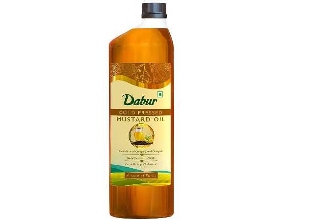 Dabur Cold Pressed Mustard Oil -1L