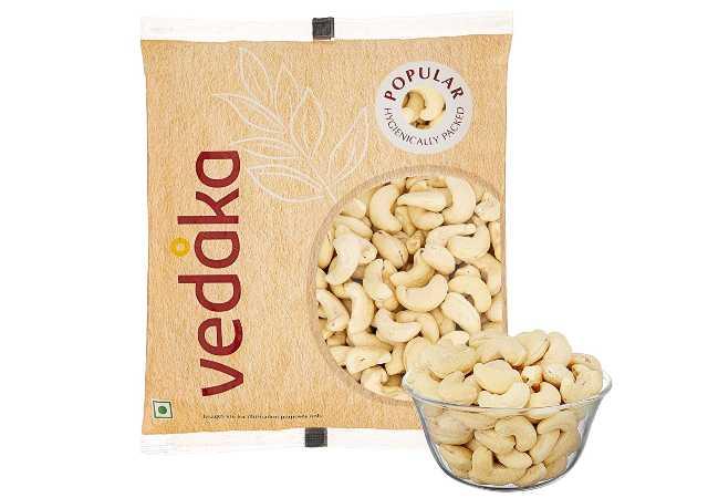 Amazon Brand - Vedaka Whole Cashews, 200g