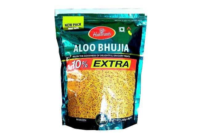 Haldiram's Aloo Bhujia, 400g (with Extra 40g)