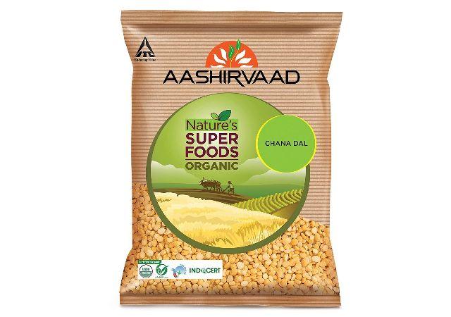 Aashirvaad Organic Chana Dal Split, 1 Kg