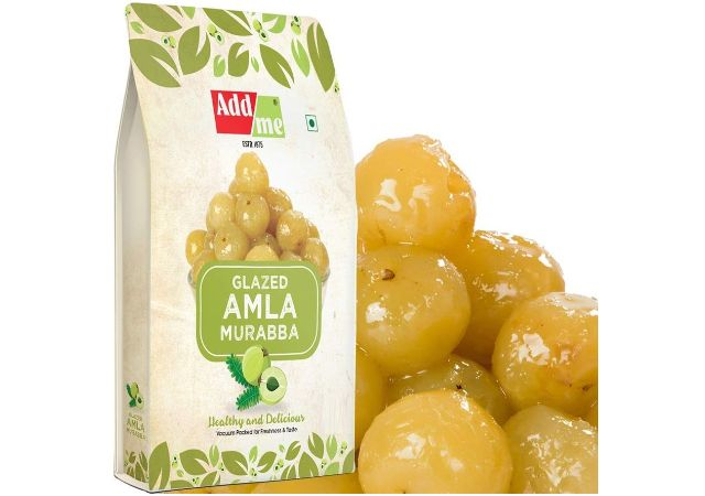 Add me Dry Amla Murabba 1kg fine Quality Vacuum Packed Candy Without Sugar Syrup 1 Kg Immunity boosters