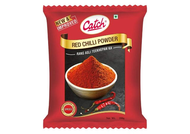 Roll over image to zoom in Catch Red Chilli Powder, 200g