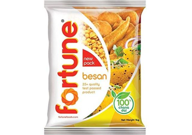 Fortune Chana Besan, Made from 100% Chana Dal 100% Taste, 1kg