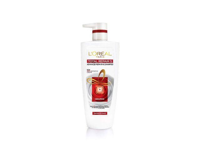 L'Oreal Paris Total Repair 5 Shampoo, 1 Litre