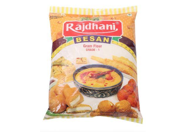 Rajdhani Flour - Besan, 1kg Pack