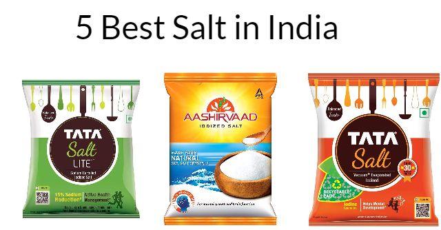 5 Best salt in India