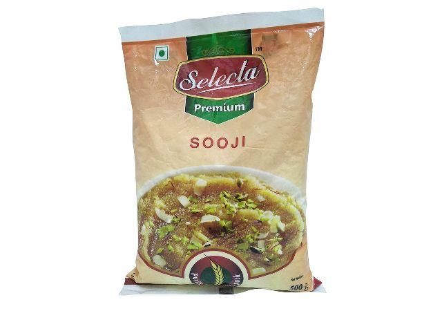 Selecta Premium Sooji, 500g Pouch
