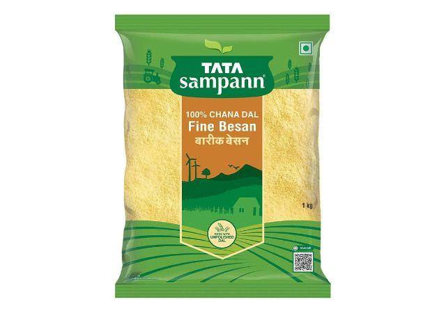 Roll over image to zoom in Tata Sampann Besan, 1kg