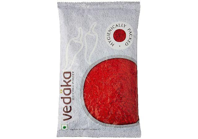 Amazon Brand - Vedaka Red Chilli (Lal Mirch) Powder, 200g