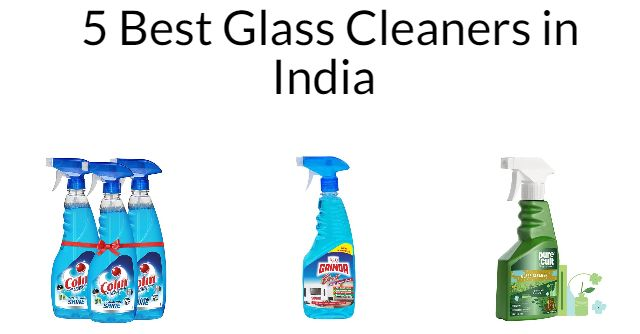 5 Best Glass Cleaners in India 2021