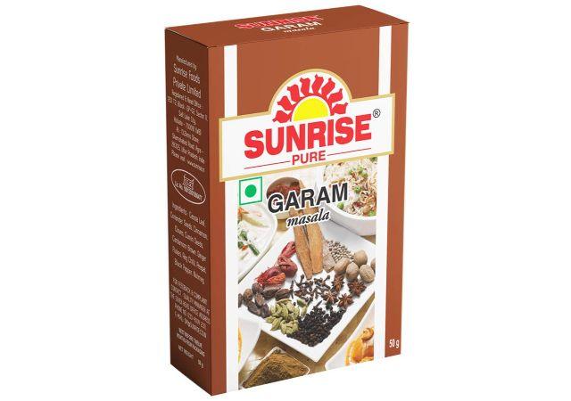 Sunrise Pure, Garam Masala Powder - 50 Grams (Box)