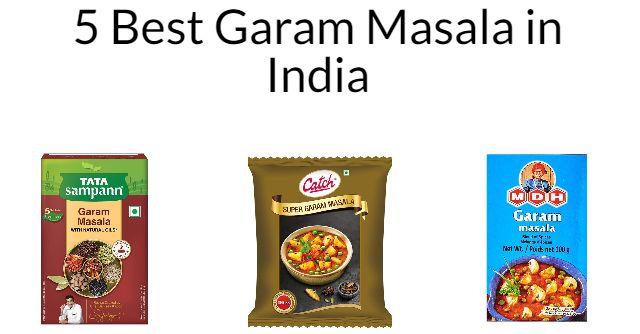 5 Best Garam Masala in India 2021