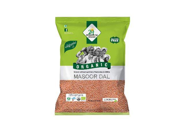 24 Mantra Organic Masoor Dal organic Split, 1kg