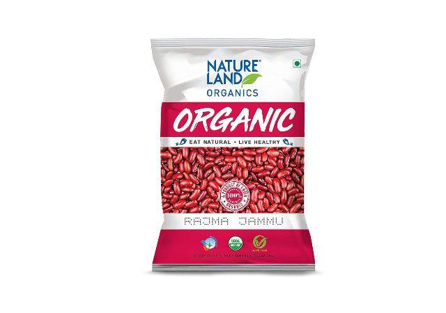 Natureland Organics Rajma Jammu Pouch, 1 kg