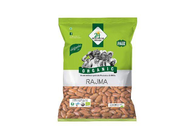 24 Mantra Organic Rajma, 500g