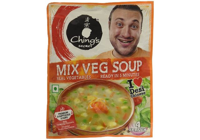 Ching's Instant Mixed Veg Soup, 55g