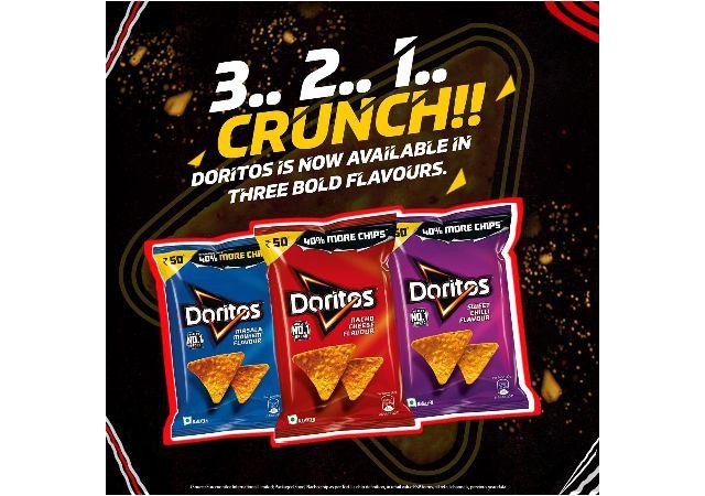 Doritos Nacho Chips - Sweet Chilli Flavour - 110g