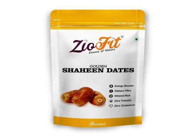 Ziofit Golden Shaheen Dates, 250g (Buy 1 Get 1 Free)