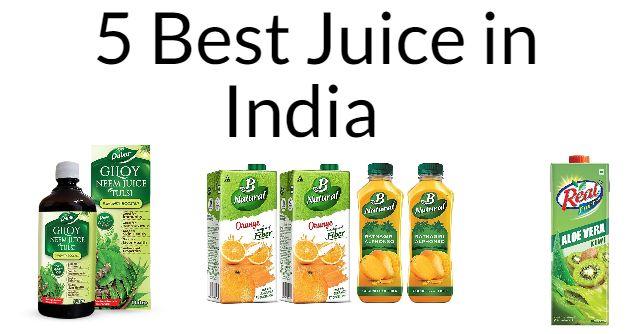 5 Best Juice in India