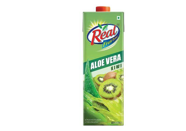 Real Aloe Kiwi Pouch, 1 L