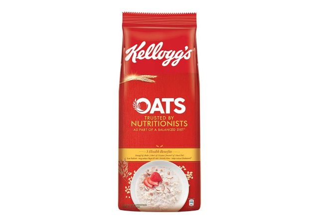 Kellogg's Oats, High in Protein and Fibre, Low in Sodium, 2kg Pack
