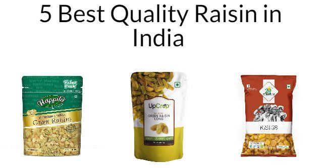 5 Best Quality Raisin in India 2021