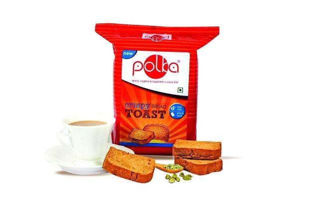 POLKA Pack of 6 , Crispy Toast , Suji RUSK , 400X6=2400 GM ,Rakhi Gift for Brother ,Gifts for Brother , Rakhi Gift Pack ,Gift Combo ,Gift Set