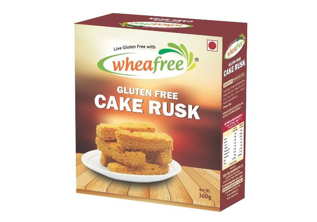 Wheafree Gluten Free Cake Rusk 300 Grams
