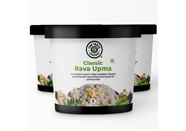 TheTasteCompany Classic Rava Upma - Ready to Eat | Instant Food | Taste Company (Pack of 3)