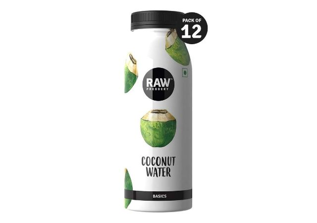 Raw Pressery Coconut Water (12 x 200ml) Natural Energizer & Immunity Booster, Thirst Quencher, No Added Sugar, Not from Concentrate