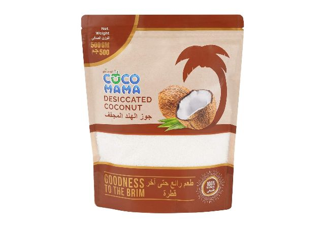 Coco Mama Desiccated Coconut Powder 500 gm - Pouch