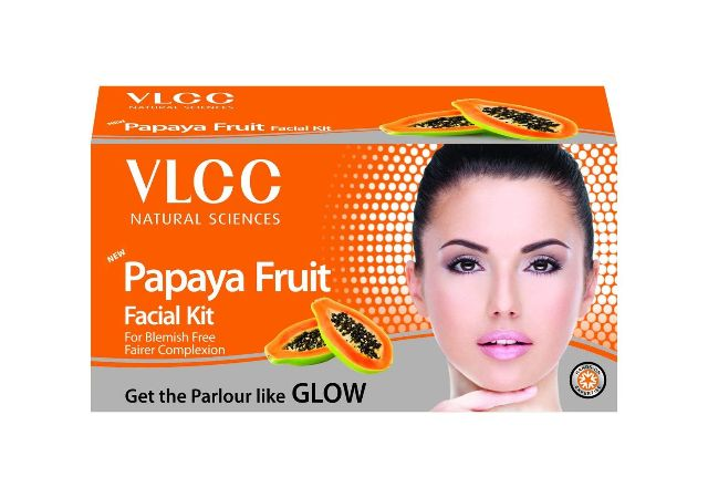 VLCC facial kits (Papaya Fruit Facial Kit, Pack Of 1)