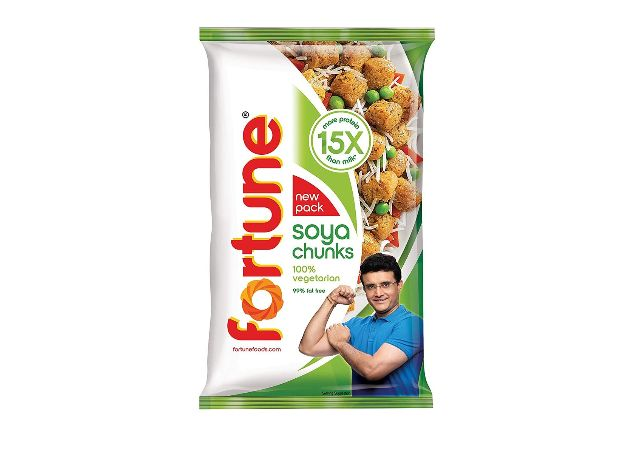 Fortune SOYA Chunks, 15x More Protein Than Milk, 1kg